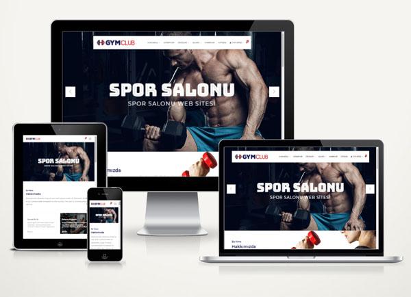 Spor Salonu Web Paketi Flux v3.0