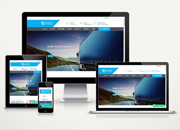 Kargo / Nakliyat  Web Paketi Delivery v4.5