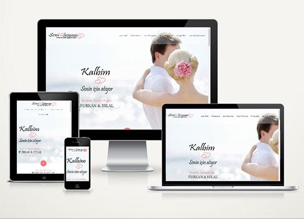 Sevgililer Günü Web Sitesi Love 1