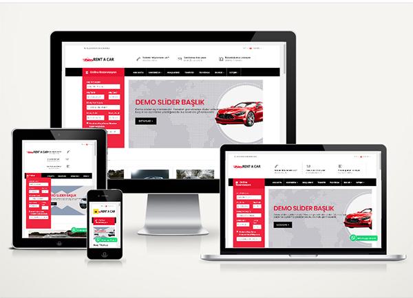 Rent A Car Web Paketi Best v4.5